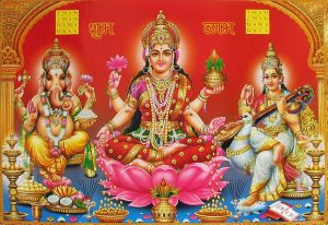 Laxmi Ganesha Wallpaper for Desktop