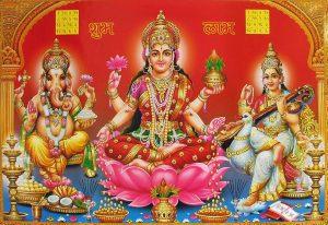 Laxmi Ganesha Wallpaper for Desktop
