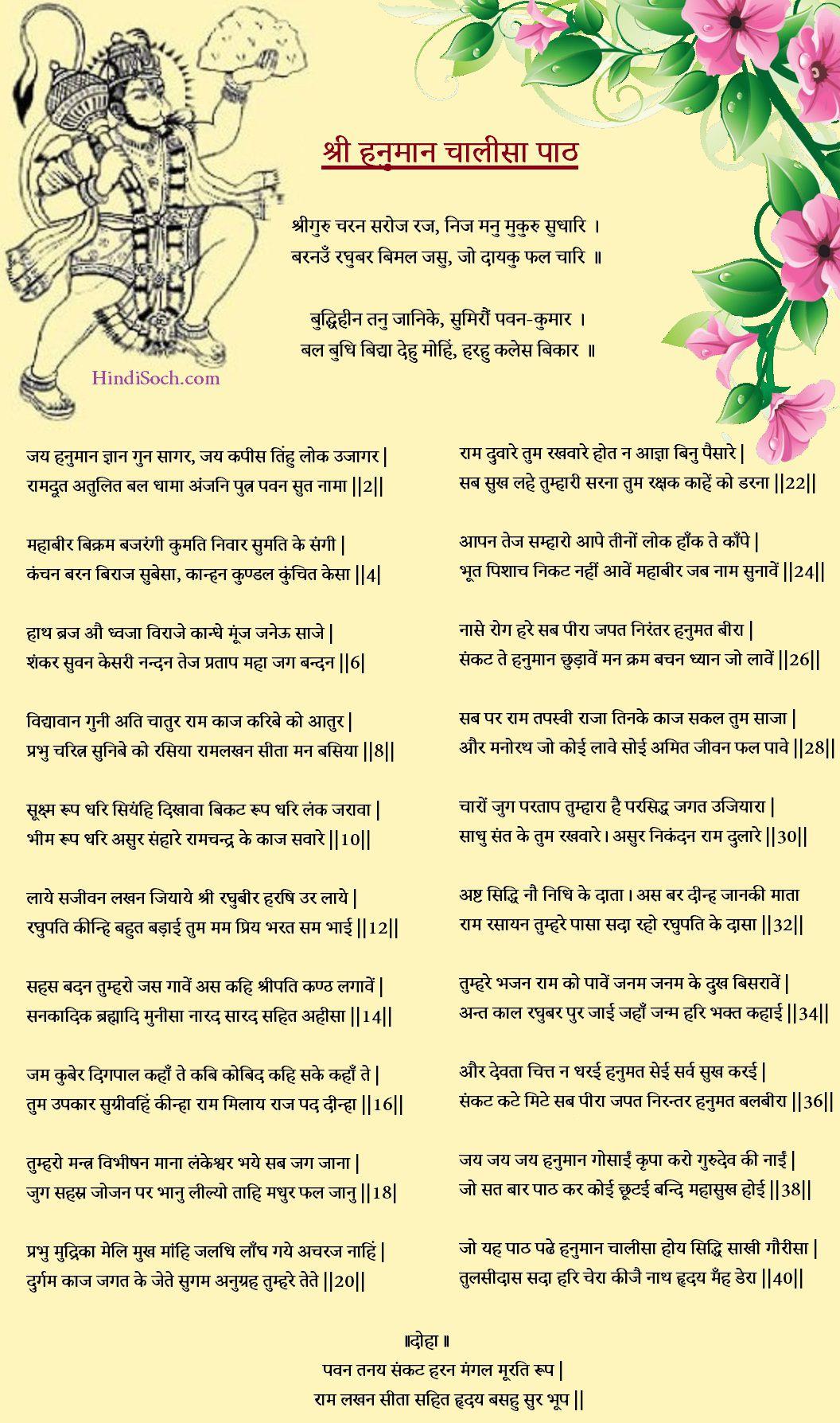 Shree Hanuman Chalisa Image