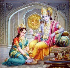 Bhagwaan Rama Maa Sita Images