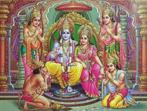 Bhagwan Shree Ram Images with Hanuman