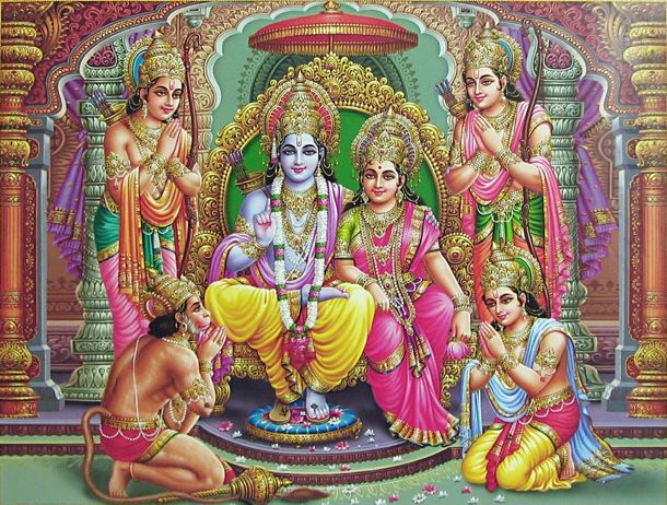 Bhagwan Shree Ram Images with Hanuman