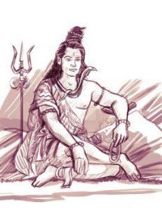 Bhole Mahadev Painting