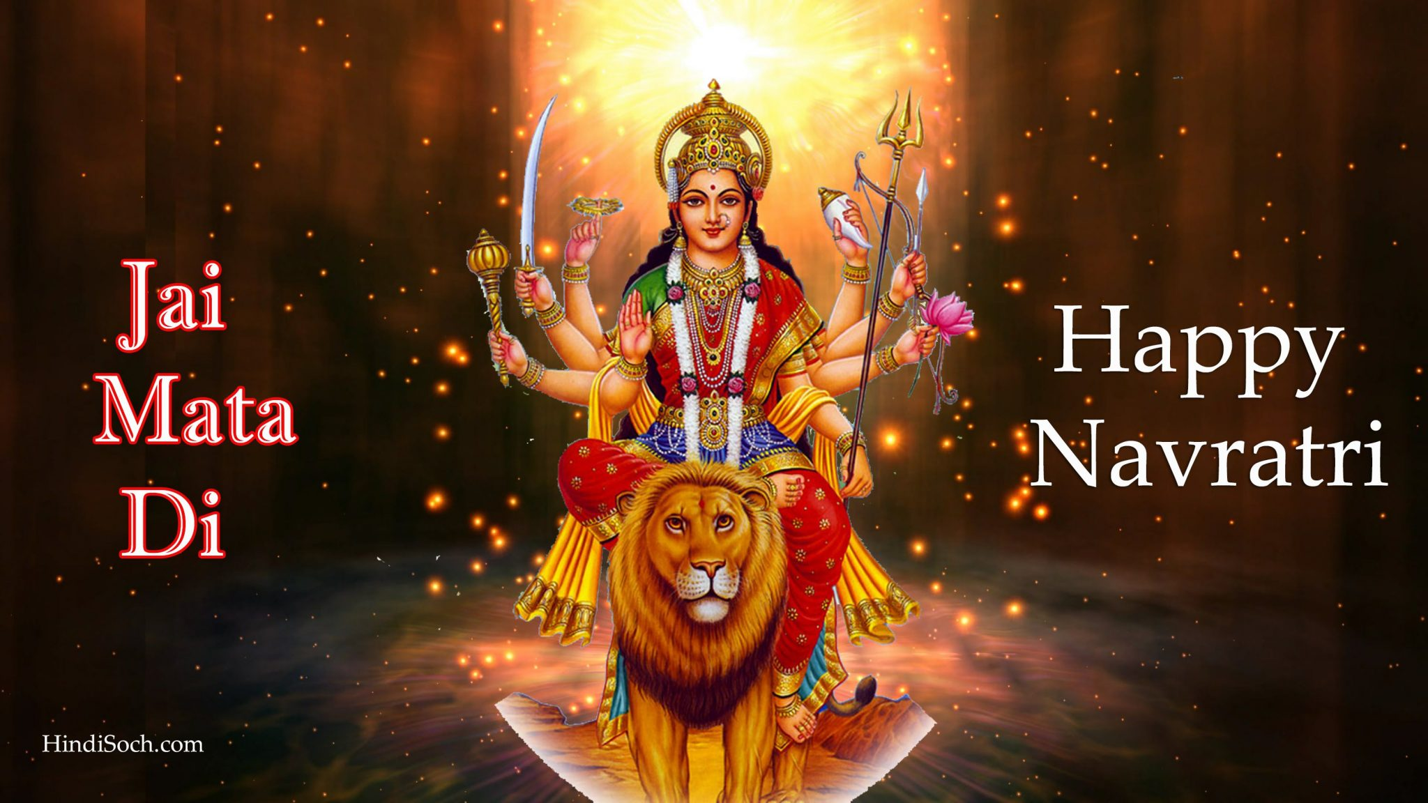 Happy Navratri Images Hd Navratri Wallpaper With Quotes Wishes