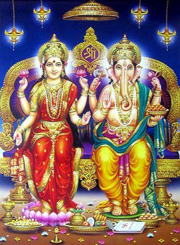 Lakshmi Ganesha Photos Hd