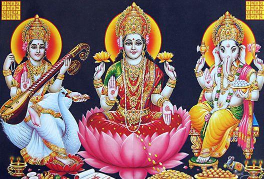 Best of Laxmi Ganesh Images with Amazing Laxmi Ganesh HD Photo
