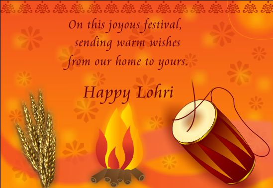 Happy Lohri Wallpaper for Whatsapp