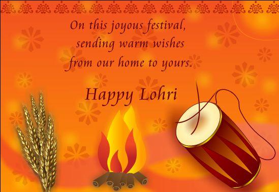 Happy Lohri Wallpaper for Whatsapp