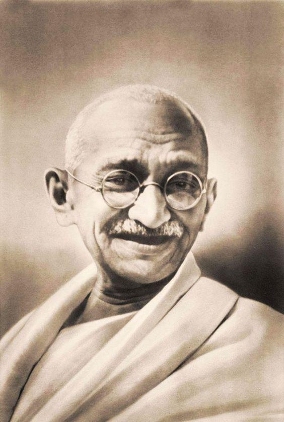 Freedom Fighter Mahatma Gandhi Ji Photo Wallpaper