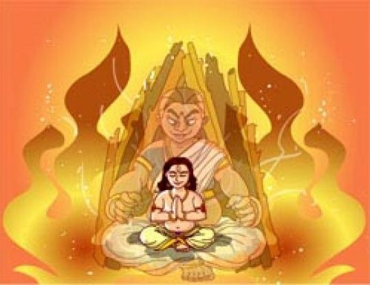 Holika Dahan Pictures in India