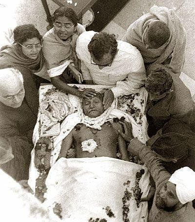 Last Photo of Mahatma Gandhi Ji
