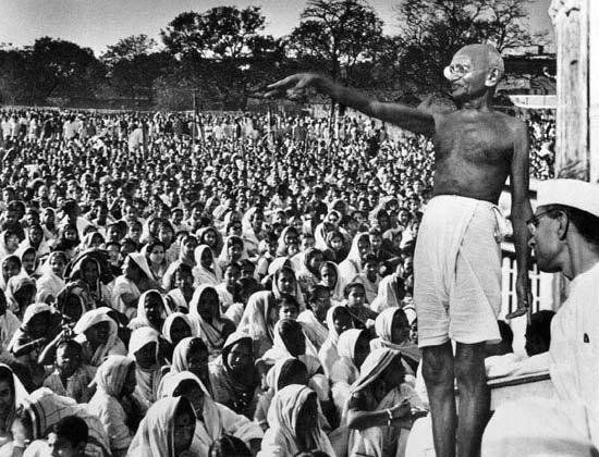 Mahatma Gandhi Speech Pictures