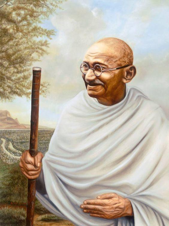 Mahatma Gandhi Ji Poster Image Wallpaper