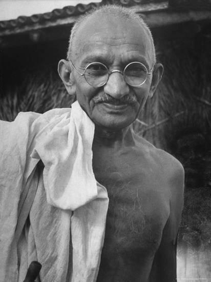 Rare Photo of Mohandas Karamchand Gandhi Ji Image