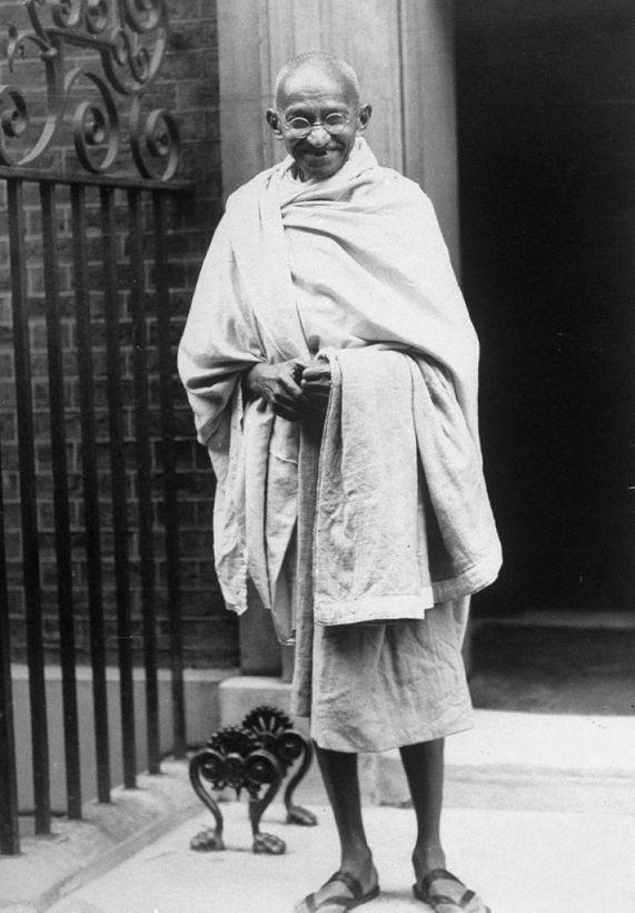 Rare Picture of Bapu Mahatma Gandhi
