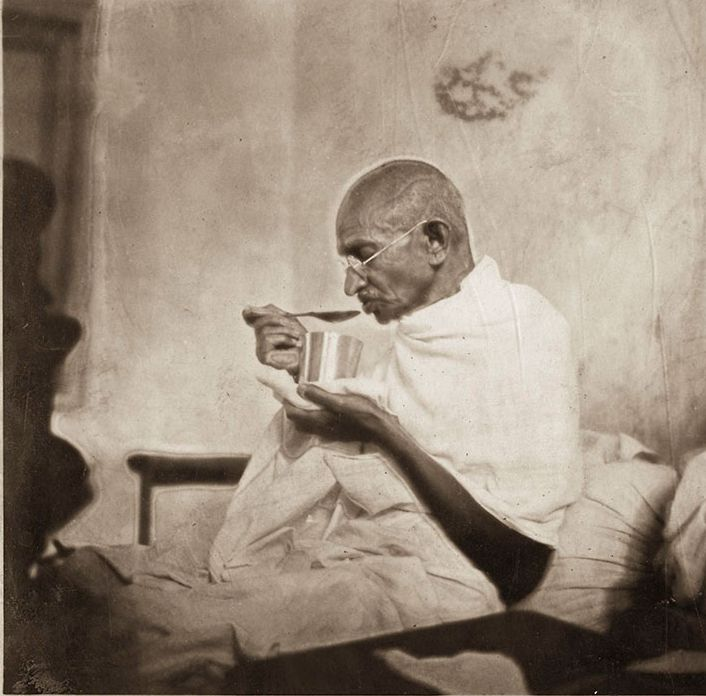 Rare Pictures of Mahatma Gandhi Ji