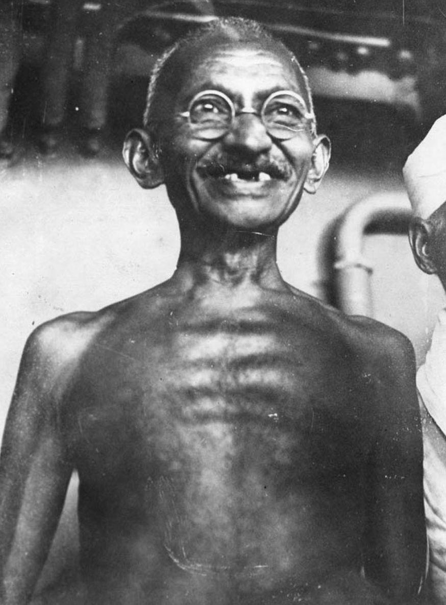 Very Rare Mohandas Karam Chand Gandhi Images