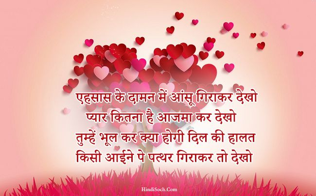 Lovely Hindi Love Shayari