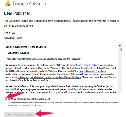 New Google Adsense Policy in Hindi
