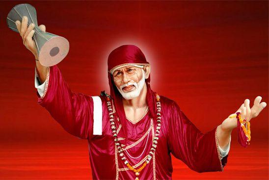 Spiritual Leader Sai Baba Image