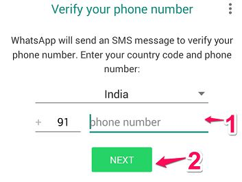 Add Phone Number to Whatsapp