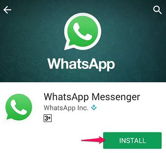 Install Whatsapp