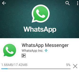 Whatsapp Messanger Downloading