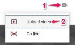 Upload Video