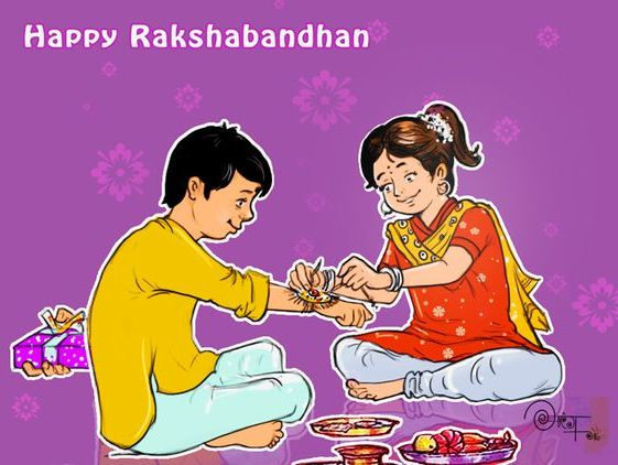 Bhai Bahan Raksha Bandhan Images