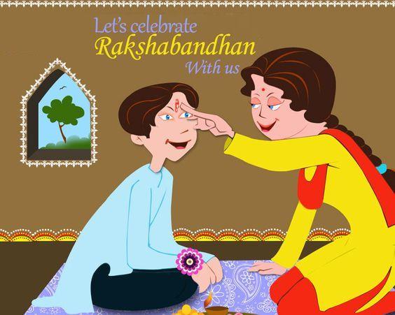 Bhai Bahan Rakshabandhan Images