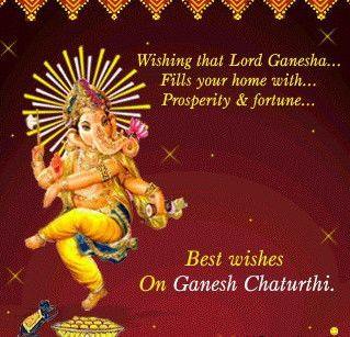 Image Wishes on Ganesh Chaturthi