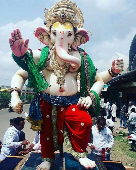 Lord Ganesh Chaturthi Image Pics