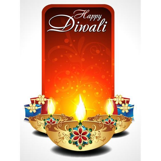 Diwali Message Image for Whatsapp Instagram
