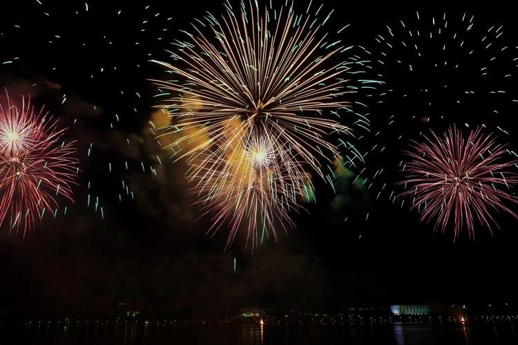 Diwali Night Fireworks Beautiful HD Wallpaper India
