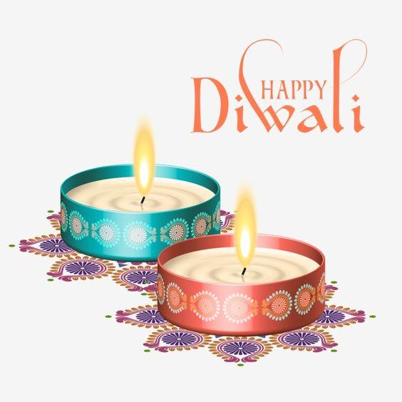 Happy Diwali Diya Photo Wishes for Family