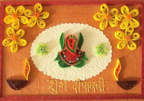 Subh Deepawali Art Image Decoration Photo