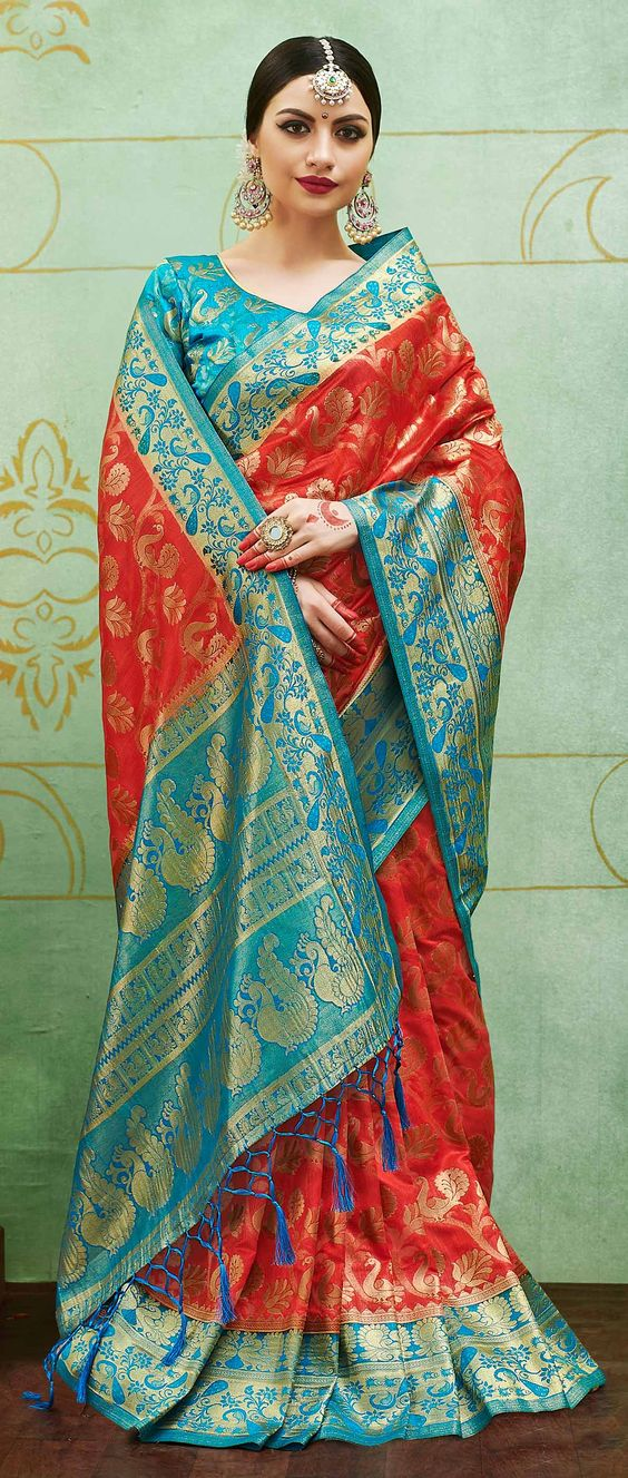 Banarasi Silk Saree Image HD