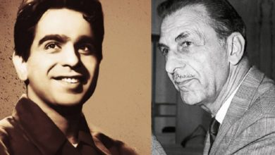 Dilip Kumar left with JRD Tata