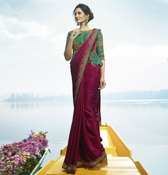Fashion Saree Design HD Image