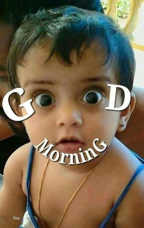 Baby Cute Good Morning Funny Image