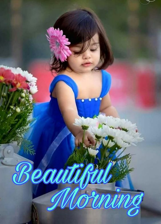 Beautiful Good Morning Girl Image Pictures