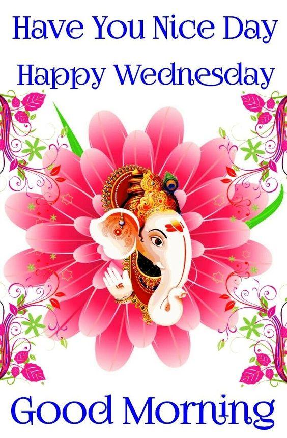 Bhagwan Ganesha Good Morning Wednesday Image
