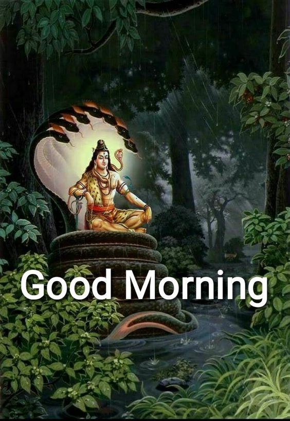 Bhagwan Shiv Good Morning HD Image