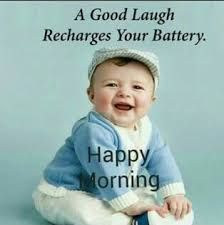 Cute Baby Good Morning Image Quote
