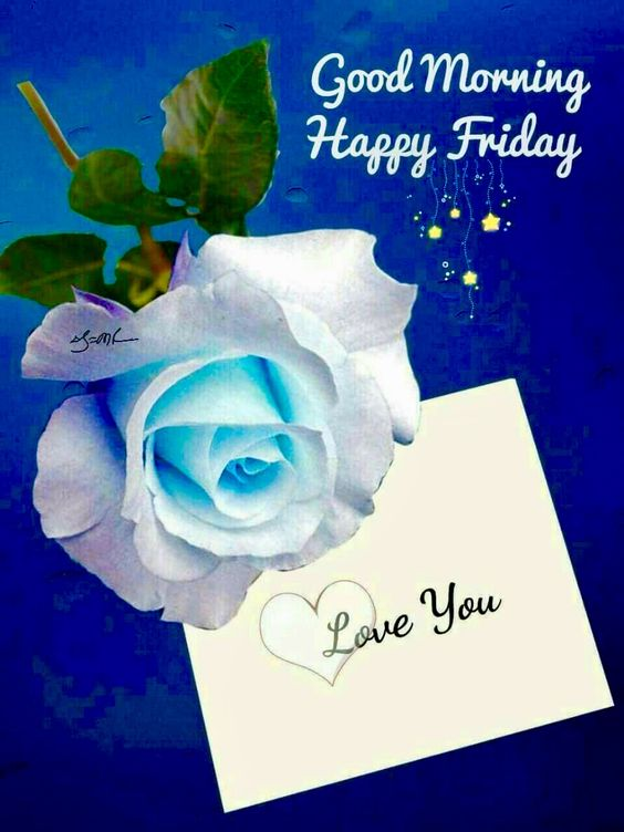 Friday Lovers Good Morning Photo Wallpaper