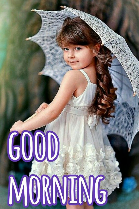 Good Morning Beautiful Baby HD Image