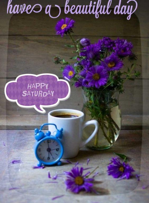 Good Morning Beautiful Saturday Image