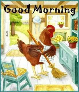 Good Morning COCK Kitchen Image Funny