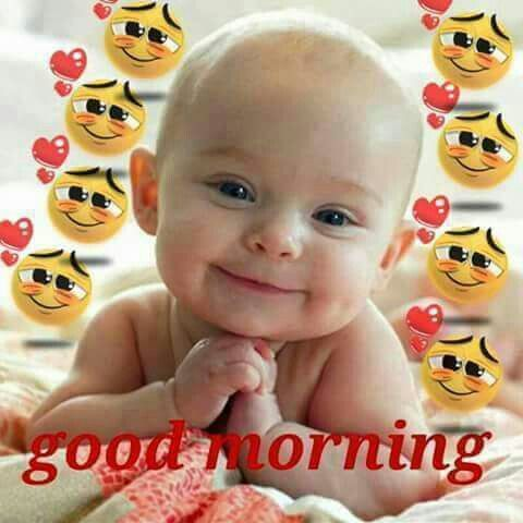 Good Morning Cute Baby Boy Image