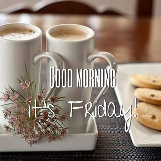 Good Morning Friday Breakfast Image Wallpaper